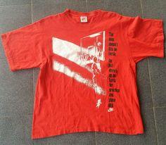 VTG 1990s Nike Grey Tag Michael Jordan Jumpshot Shirt 23 Chicago Bulls RARE by catchmiifyacan on Etsy
