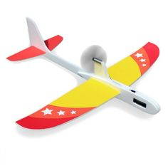Upgraded Super Capacitor Electric Hand Throwing Free-flying Glider DIY Airplane Model - For Electric Product Remote Control Toys, Radio Control, Whale Pattern, Cars 1, Hobby Toys, Alkaline Battery, Paper Plane, Rc Helicopter, Model Airplanes