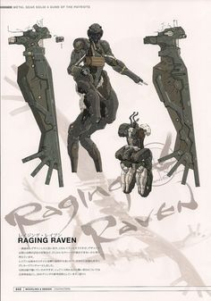 Metal Gear Solid 4: Guns of the Patriots; The Beauty and the Beast Corp; Raging Raven