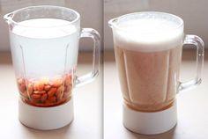 健康食アーモンドミルク、実は簡単に作れます