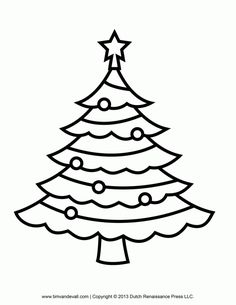 9 Best Christmas Images On Pinterest Christmas Tree Template Xmas