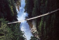 Capilano Suspension Bridge in Nort Vancouver2