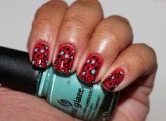 Fun Leopard print! #nails #nailart #leopardprint  BrrrdsNest.com