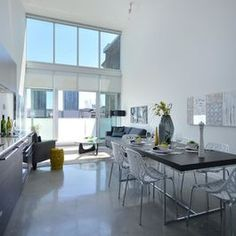 West Hastings - The Paris Staging - contemporary - living room - vancouver - Flow Home Staging & Design