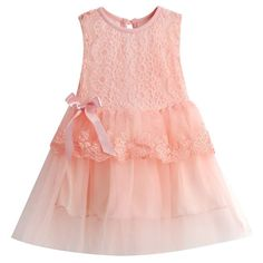 Hot New Infant Baby Girl Tutu Dress Kids Cute Lace Flower Summer Party Princess Dresses