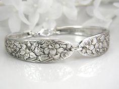 Spoon Bracelet Spoon Jewelry Silverware by SilverSpoonCreations, $27.50