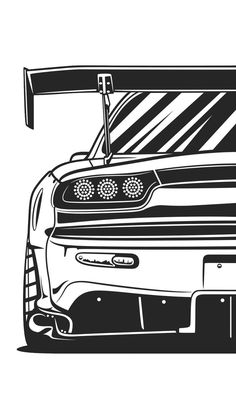 View Angle - Cars, Vehicles, Racing and History - Vehículos Car Wallpapers, Animes Wallpapers, Carros Jdm, Cool Car Drawings, Jdm Wallpaper, Japanese Sports Cars, Car Backgrounds, Car Illustration, Japan Cars