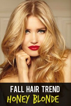 Fall Hair Color: Honey Blonde! [ARTICLE] #hairtrends