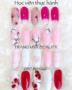 Cute Nail Art, Gel Nail Art, Cute Nails, Gel Nails, Hawaii Nails, Posh Nails, Manicure Y Pedicure, Formal Nails, Nail Patterns