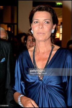 Princess Caroline of Hanovre - The philharmonic orchestra of Monte Carlo celebrates its 150th anniversary at the opera room Pleyel in Paris.