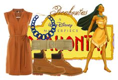 Pocahontas by slytheriner on Polyvore featuring Hobbs, Timberland and Ava & Aiden