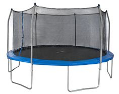 Merax 15-Feet Round Trampoline with Safety Enclosure Set 375# weight limit