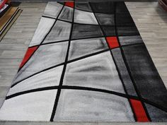 Abstract With Shadows Turkish Modern Rug Size: 200 x 290cm
