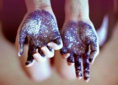 glitter, glitter, #glitter