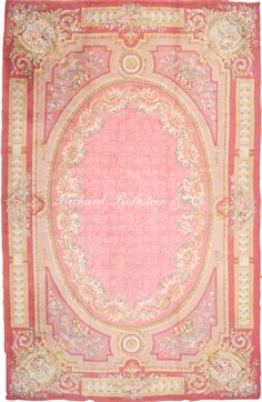 Antique French Savonnerie Rug Antrr53201