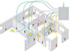 simple electrical wiring diagrams basic light switch diagram rh pinterest com electrical home wiring diagram electrical home wiring diagrams pdf