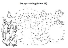 De opstanding Bible Activities, Church Activities, Color Activities, Christmas Activities, Bible For Kids, Art For Kids, Sunday School Coloring Pages, Catholic Crafts, Religion Catolica