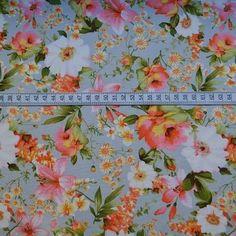 Poplin Prints - Katsura- Floral -Cotton Fabric - s