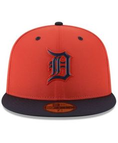 New Era Detroit Tigers Spring Training Pro Light 59Fifty Fitted Cap -  Orange 7 1  05d9ba06578