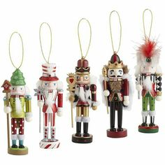 Nutcracker Ornament Set $15.95 Pier One Imports... I want these!!!