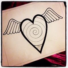 Heart by Anne Marie Price www.ampriceart.com #AMP #drawing #heart #CA #LA