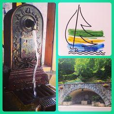 Les Chalets du Gua des Brasses — Envie de vous rafraîchir ? Quelle fontaine...
