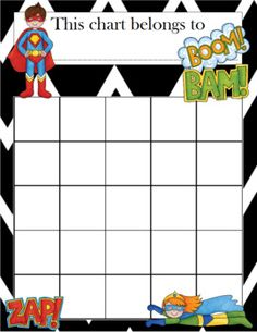 Want to get students reading more? Working towards a class goal? Counting down to a special day? Looking for a fun way to keep track of completed homework? Incentive charts aren't just for behavior anymore! This Superheroes Incentive Chart come in 3 sizes (4 per