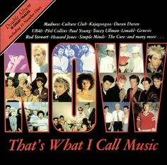 Original NOW That's what I call music vinyl album, often just called NOW. Who remembers this coming out in 1983?