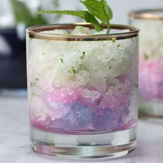 Color-Changing Frozen Mojito Recipe by Tasty