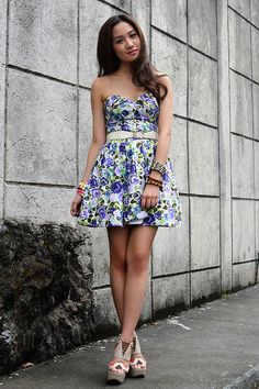 Floral Queen (BMS) (by Laureen Uy) http://lookbook.nu/look/3223417-Floral-Queen-BMS