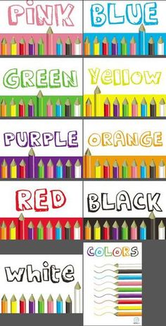 Colors Classroom Poster Series — Edgalaxy