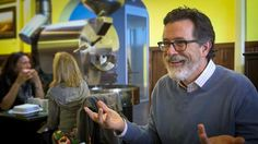 Stephen Colbert Cut Up And Bloody But Looking Good - Comedians In Cars Getting Coffee by Jerry Seinfeld