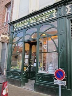 https://flic.kr/p/ntw7jR | Boulangerie Art Nouveau - 5 rue des Feutriers, Cambray (59)