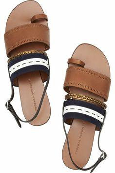 sandales plates femme, chaussures d'été femme design pour la femme moderne