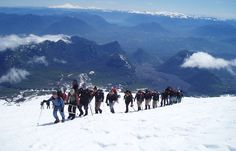Ascent of the Villarrica volcano Chile, Hiking Tours, Active Volcano, Daredevil, Patagonia, Climbing, Destinations, Mountains, World