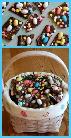 EASY Easter Candy Bark #recipe