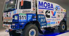 Ginaf X 2222 SP - 2015 - Motor Cummins ISZ 13 - 850 CV camión 522 - logró el puesto 12 en la general - Dakar 2015 Transmisión...