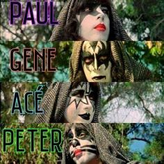 Meets the Phantom Kiss Images, Kiss Pictures, Paul Stanley, Kiss Group, Kiss Members, Rock Band Posters, Music Stuff, Music Things, Eric Carr