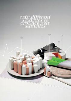 'Cook Statistics', art print by kata  on artflakes.com