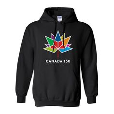 Canada 150 Pullover Hoodie  Canada 150 Apparel collection by North and Oak
