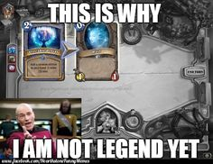 The reason :D Visit our FB: www.facebook.com/HearthstoneFunnyMemes