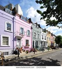 colourful London terraces - Google Search Terraces, Street View, London, Mansions, Google Search, House Styles, Color, Decks, Manor Houses