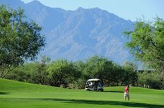 Retire in Green Valley | The Santa Rita Mountains in the Sonoran Desert serve as a backdrop for ...