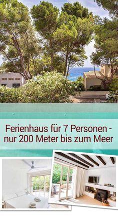 Nur 200 Meter vom Meer entfernt bietet das Ferienhaus auf Mallorca genügend Platz für bis zu 7 Personen. Entspannte Urlaubstage am Pool oder am Meer mit seinem kristallklaren Wasser sind hier garantiert.