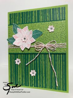 Stampin' Up! Tropical Pop of Petals for the Happy Inkin' Thursday Blog Hop | Stamp With Sue Prather