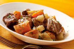 Ragoût de bœuf facile à la mijoteuse
