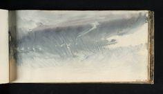 j.m.w. turner - watercolour - from 'skies' sketchbook:  study of sky (c. 1816-18)