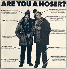 2012 Canadian Hoser of the Year Awards Hoser is still my favourite Canadian slang-word.Hoser is still my favourite Canadian slang-word. Canadian Things, I Am Canadian, Canadian Girls, Canadian History, Canadian Memes, Canadian Culture, Canadian Facts, Canadian Humour, American History
