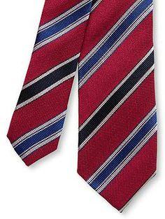 Winston Striped Skinny Tie