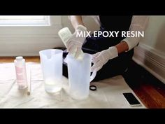 DIY: Create An Epoxy Resin Coffee Table to Creatively Show Off Your Photos in Style